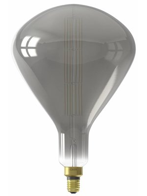 Calex Calex XXL Sydney LED Lamp 240V 8W 200lm E27 R250, Titanium 2200K dimmable, energy label B