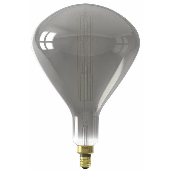 Calex XXL Sydney LED Lamp 240V 8W 200lm E27 R250, Titanium 2200K dimmable, energy label B
