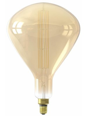Calex Calex XXL Sydney LED Lamp 240V 8W 800lm E27 R250, Gold 2200K dimmable, energy label A+