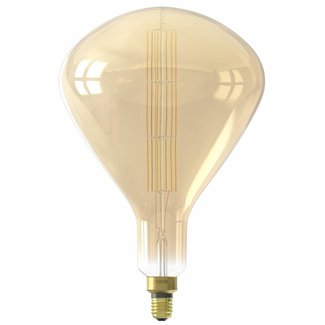 Calex Holland Calex XXL Sydney LED Lamp 240V 8W 800lm E27 R250, Gold 2200K dimmable, energy label A+