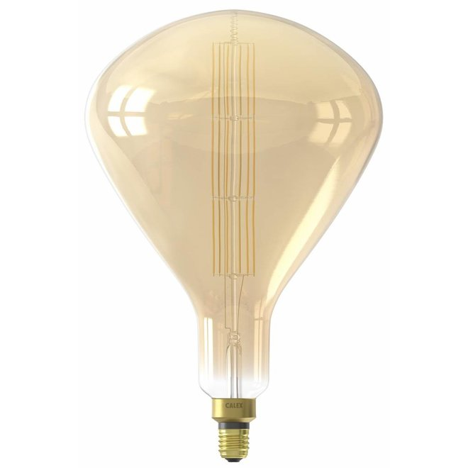 Calex XXL Sydney LED Lamp 240V 8W 800lm E27 R250, Gold 2200K dimmable, energy label A+
