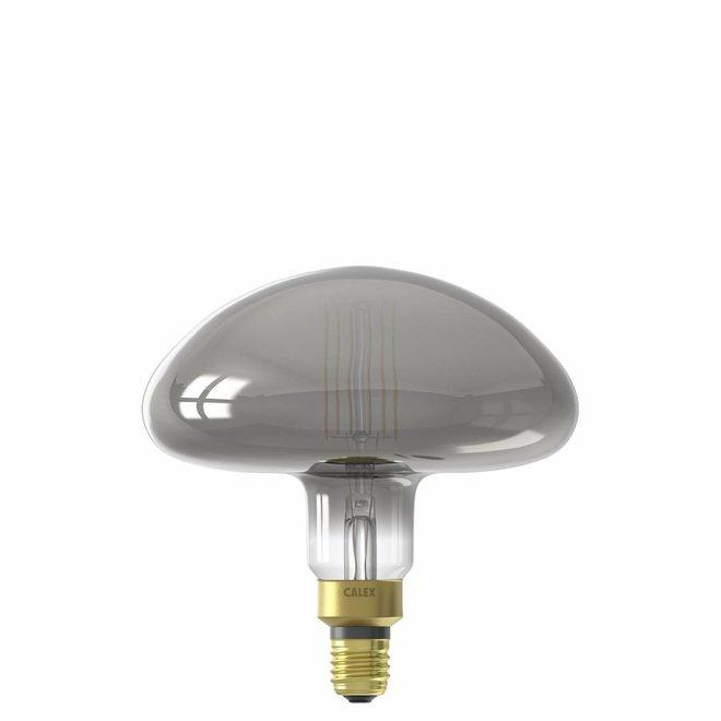 Calex XXL Calgary LED Lamp 240V 6W 180lm E27 MS195, Titanium 2200K dimmable, energy label B