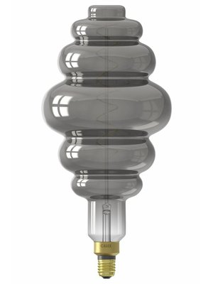 Calex Calex XXL Paris LED Lamp 240V 6W 100lm E27 LS200, Titanium 2200K dimmable, energy label B