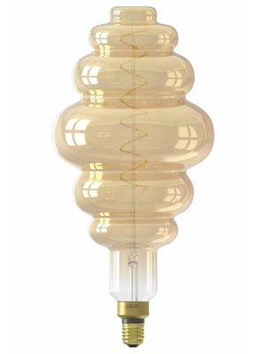 Calex Calex XXL Paris LED Lamp 240V 6W 350lm E27 LS200, Gold 2200K dimmable, energy label A