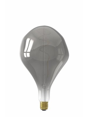 Calex Calex XXL Organic LED Lamp 240V 6W 90lm E27 PS165, Titanium 2200K dimmable, energy label B