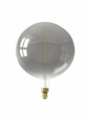 Calex Calex XXL Manhattan LED Globe Lamp 240V 8W 200lm E27 G300, Titanium 2200K dimmable, energy label B