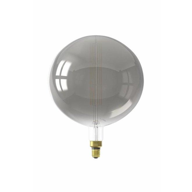 Calex XXL Manhattan LED Globe Lamp 240V 8W 200lm E27 G300, Titanium 2200K dimmable, energy label B