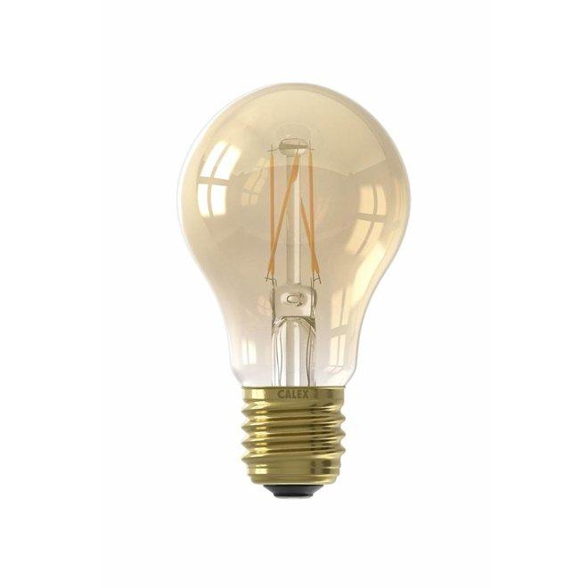 E27 LED Lichtbron 'Standaard Bol' - 600 Lumen Dimbaar