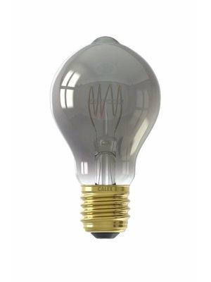 Calex Calex LED Full Glass Flex Filament GLS-lamp 240V 4W 100lm E27 A60DR, Titanium 2100K Dimmable, energy label B