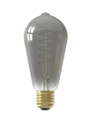 Calex E27 LED Lichtbron Titanium Spiraal 100lm - Ø64mm - Dimbaar