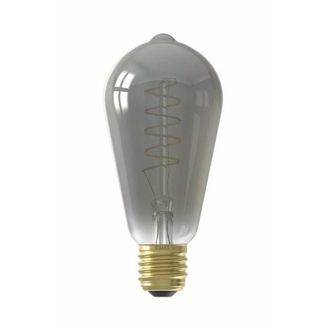 E27 LED Lichtbron Titanium Spiraal 100lm - Ø64mm - Dimbaar