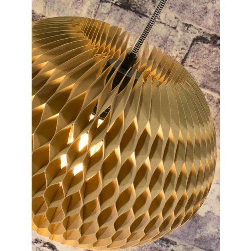 GOOD&MOJO Hanglamp craft paper Yucatan, naturel