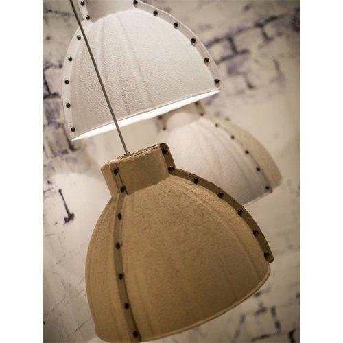 GOOD&MOJO Hanglamp paper pulp Yellowstone, naturel