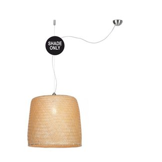GOOD&MOJO Shade Hanglamp Serengeti bamboo, naturel