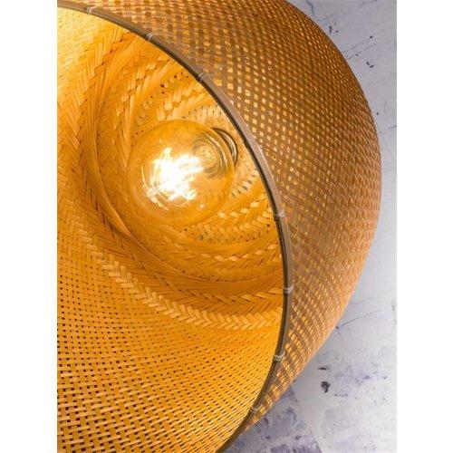 GOOD&MOJO Hanglamp Serengeti bamboo double shades, naturel