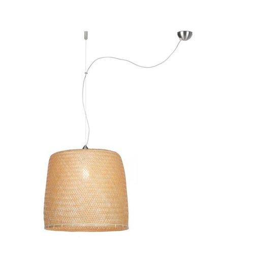GOOD&MOJO Hanglamp Serengeti bamboo singel shade, naturel
