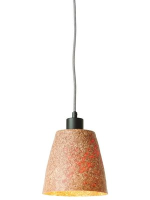 GOOD&MOJO Hanglamp hout chips Sequoia/1-shade, naturel