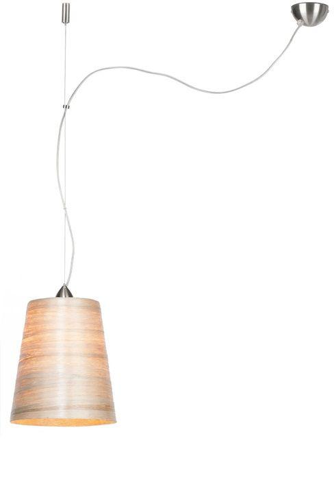 GOOD&MOJO Hanglamp Sahara abaca, single shade naturel, M