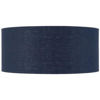 GOOD&MOJO Shade hanging/Vloerlamp eco linen, Denim blauw