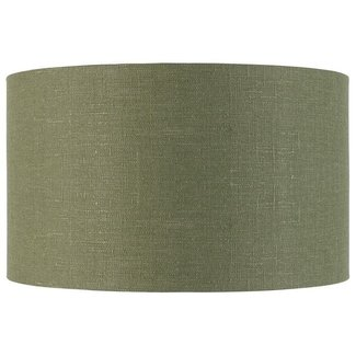 GOOD&MOJO Shade hanging/table/Vloerlamp eco linen, green forest