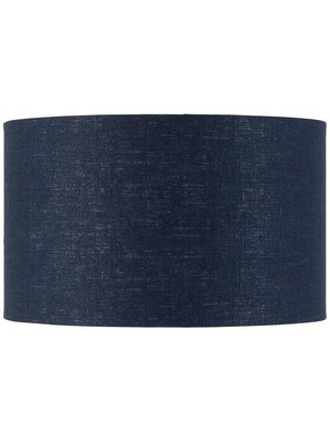 GOOD&MOJO Shade hanging/table/Vloerlamp eco linen, Denim blauw