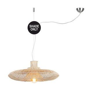 GOOD&MOJO Shade Hanglamp Kalahari rattan, naturel, L