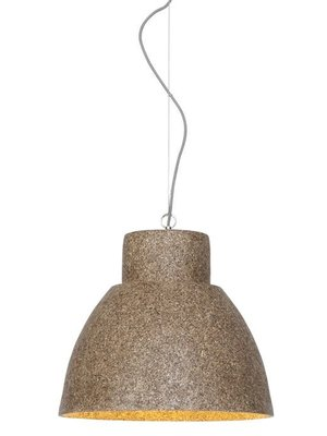 GOOD&MOJO Hanglamp Cebu hout chips/rond, naturel