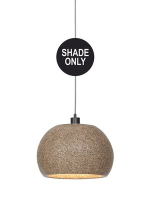 GOOD&MOJO Shade Hanglamp Bohol hout chips rond, naturel