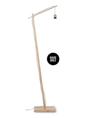 GOOD&MOJO Base Vloerlamp Andes bamboo, naturel