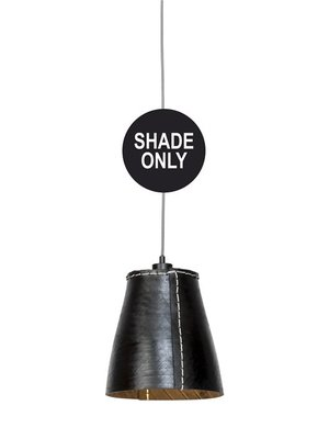 GOOD&MOJO Shade Hanglamp Amazon gerecyclede band, zwart, L