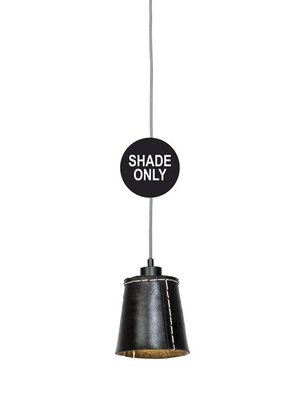 GOOD&MOJO Shade Hanglamp Amazon gerecyclede band, zwart, S