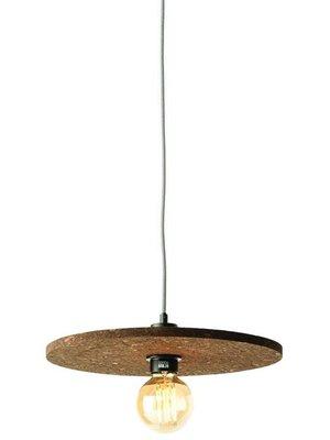GOOD&MOJO Hanglamp cork Algarve, donker bruin