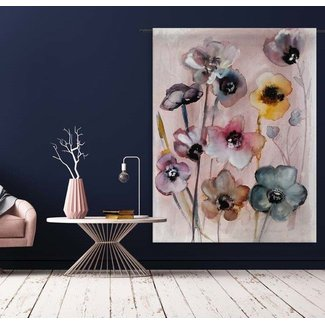Urban Cotton Flowers in Soft Hues L