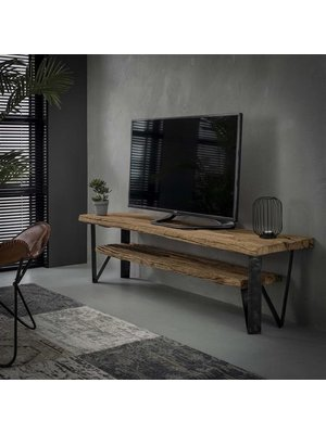 Alaska TV-meubel Wagonhout Industrieel 160cm