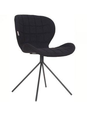 Zuiver Zuiver OMG stoel Zwart