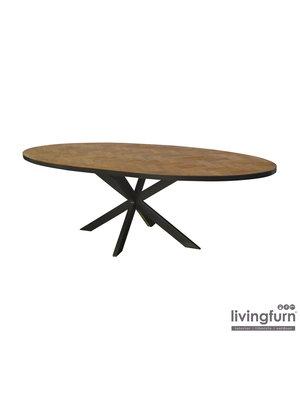 Livingfurn Eettafel Accent Ovaal 210cm