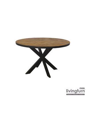 Livingfurn Eettafel Accent Rond 130cm