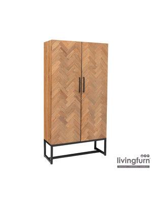 Livingfurn Wandkast Accent groot 105 cm