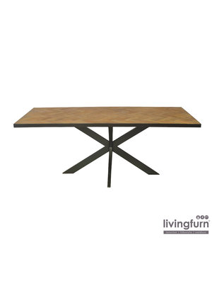 Livingfurn Eettafel Accent 200 cm
