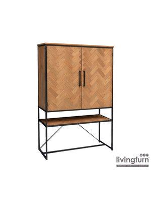 Livingfurn Wandkast Accent 120 cm
