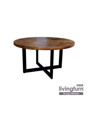 Livingfurn Eettafel - Strong round 130cm