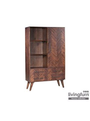 Livingfurn Wandkast - Havana 110 cm