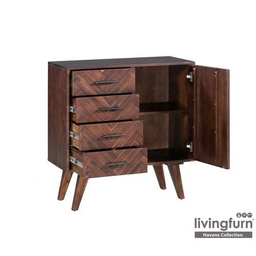 Livingfurn Dressoir - Havana B 85 cm