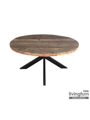 Livingfurn Eettafel - Dakota Round 130 cm