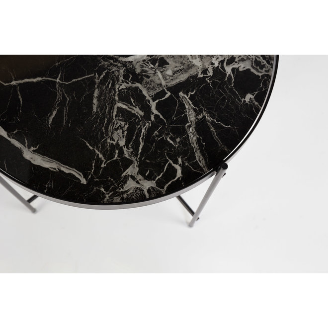 Cupid marble side table