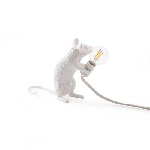 Seletti Muis Lamp Zittend