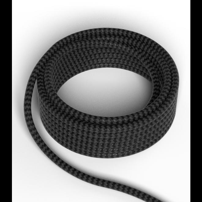 Strijkijzersnoer Zwart 300cm