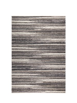 Dutchbone Vloerkleed Carve 170X240  naturel/charcoal