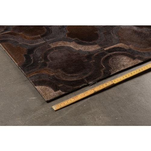 Dutchbone Vloerkleed Bawang 170X240 donker bruin
