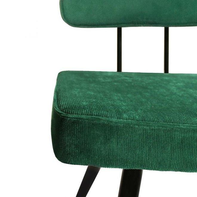 Eetkamerstoel Lot - Donker groen